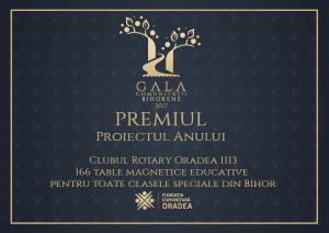 PROIECTUL ANULUI la Gala comunității Bihorene din 2017