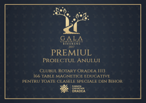 Diploma-Gala_Comunitatii_bihorene Rotary Golf Charity Cup